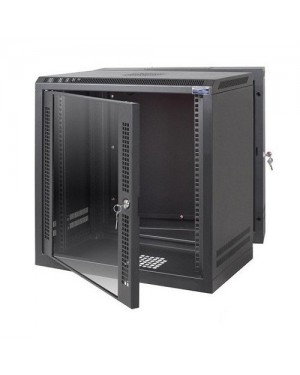 19 WALLMOUNT RACK SERVER 12U DOUBLE DOOR  (INCL. 20 PCS NUT)