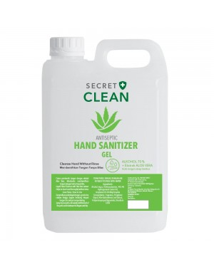 Hand Sanitizer Gel 5 Liter (HSG-5000)