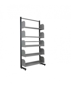 LIBRARY RACK BASIC SINGLE CONFIGURATION