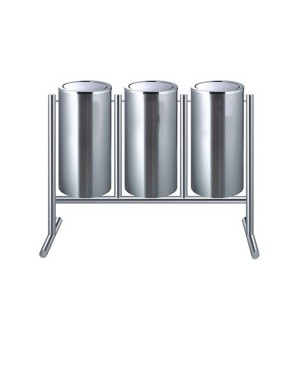 Tempat Sampah Swing Stainless 3 in 1 (TPS-3)